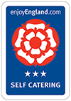 3 star self-catering rating by visit england