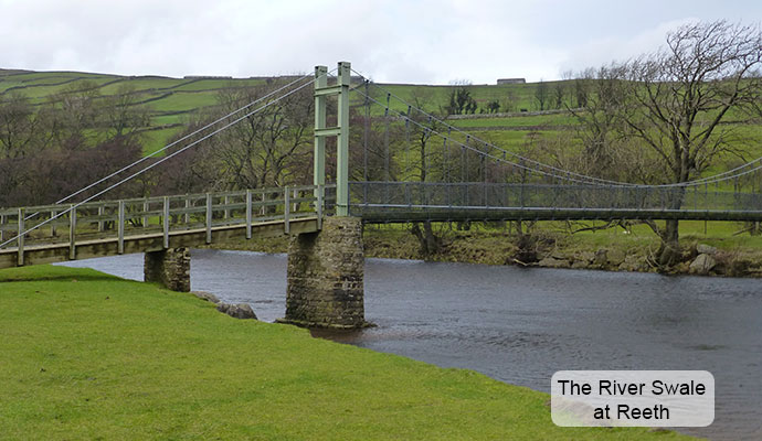 The River Swale at Reeth