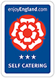 3 star self catering rating by visit england