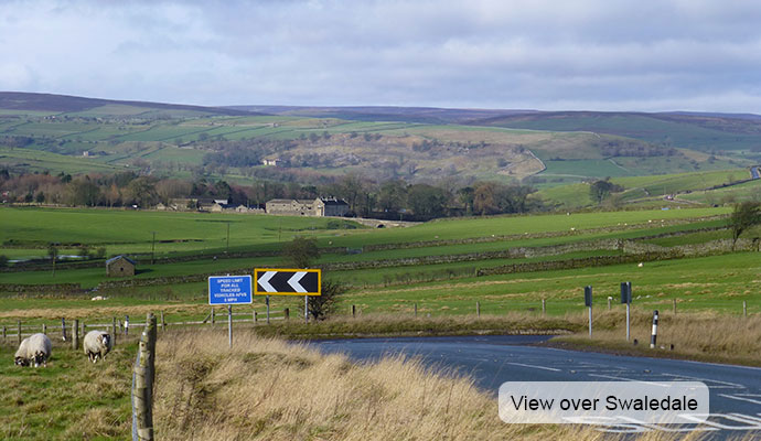 View over Swaledale