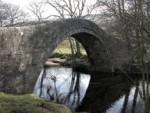 ivelet bridge over the river swale